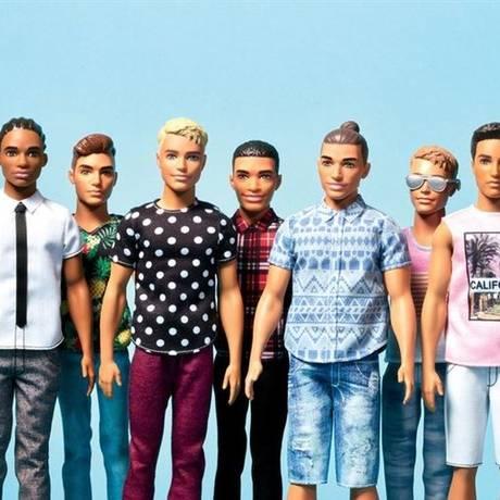 Os diferentes estilos de Ken Foto: Divulgação