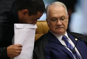 O ministro Edson Fachin Foto: André Coelho / Agência O Globo / 21-6-17
