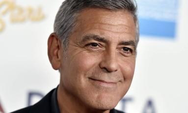 O ator George Clooney Foto: Jordan Strauss / Jordan Strauss/Invision/AP/1-10-2016