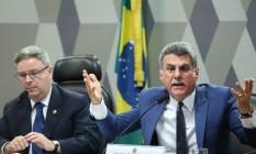 O Senador Romero Jucá (PMDB-RR) Foto: Ailton de Freitas / Agência O Globo
