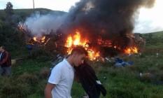 Acidente na BR-101 deixou pelo menos 15 mortos Foto: Reprodução/Gazeta Online