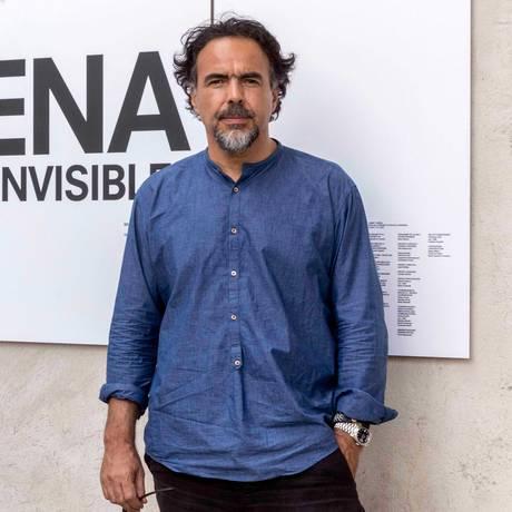 O cineasta mexicano Alejandro G. Iñárritu na Fundação Praga Foto: Divulgação