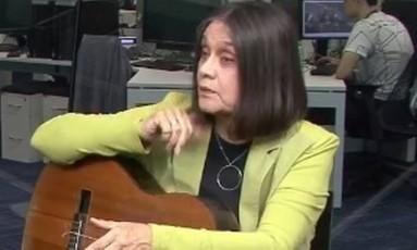 A cantora Joyce Foto: Reprodução