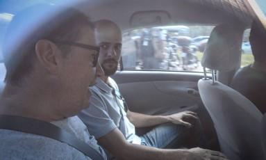 O ex-deputado Rodrigo Rocha Loures (de óculos) foi flagrado recebendo R$ 500 mil de propina Foto: André Coelho / Agência O Globo 09/06/2017