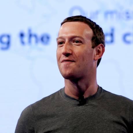 Mark Zuckerberg, CEO do Facebook Foto: Nam Y. Huh/AP/21-6-2017
