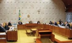 O plenário do Supremo Tribunal Federal (STF) Foto: Divulgalção 22/06/2017