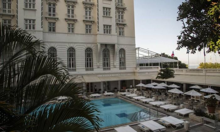 Hotel Copacabana Palace, no Rio. Foto: Guito Moreto / Agência O Globo
