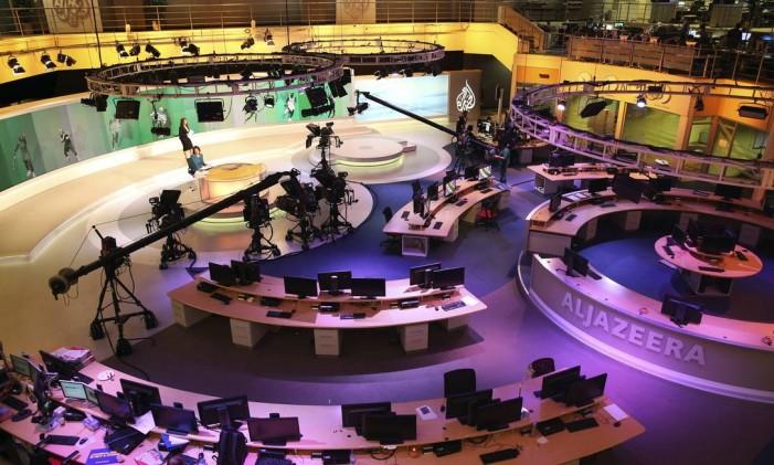 A sede da Al-Jazeera em Doha, Qatar Foto: Osama Faisal / AP