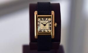 O relógio Cartier de Jacqueline Kennedy Onassis Foto: TIMOTHY A. CLARY / AFP