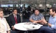 Debate sobre IPTU ao vivo Foto: Reprodução