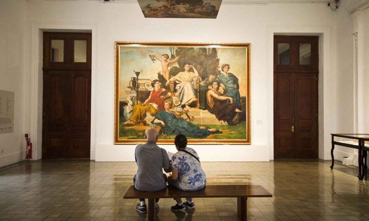 O Museu de Belas Artes também entrou no pacote do Avançar Foto: Monica Imbuzeiro / Agência O Globo
