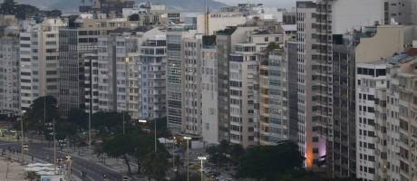 Áreas valorizadas da cidade devem ser as mais afetadas por reajuste de IPTU proposto pela prefeitura Foto: Pablo Jacob / Agência O Globo