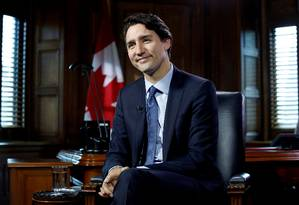 Primeiro-ministro canadense, Justin Trudeau Foto: Chris Wattie / Reuters