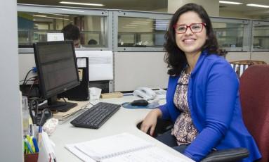 Luciana se inscreveu no curso de liderança para crescer profissionalmente Foto: Rogério Vargas/Divulgação