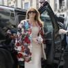 Estilo: Melania Trump com casaco Dolce & Gabbana, uma de suas marcas favoritas. A peça está avaliada em US$ 51.500 Foto: Domenico Stinellis / AP