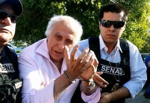 Polícia prende Roger Abdelmassih no Paraguai Foto: AFP / 2014