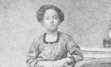 Amália Augusta, mãe de Lima Barreto, era descendente de escravos, formou-se professora e foi diretora de escola Foto: Reprodução de Lúcia Mindlin / Biblioteca Brasiliana Guita e José Mindlin/Divulgação