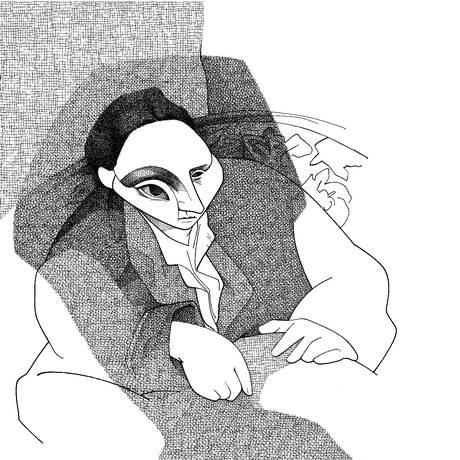 A escritora Gertrude Stein por Loredano Foto: Cássio Loredano / Agência O GLOBO