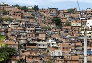 Dentre as metas está um plano para urbanização do Morro do Estado Foto: Agência O Globo / Felipe Hanower/02-04-2013