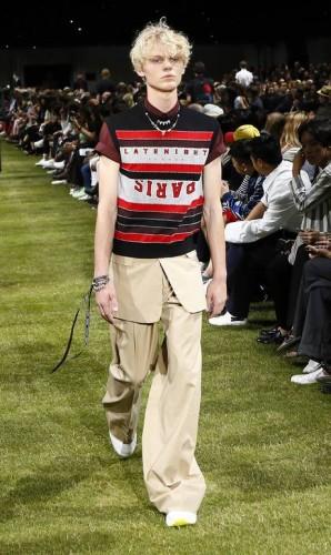 Verão 2018 masculino da Dior Foto: Francois Mori / AP