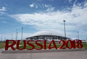 Estádio russo Foto: AFP