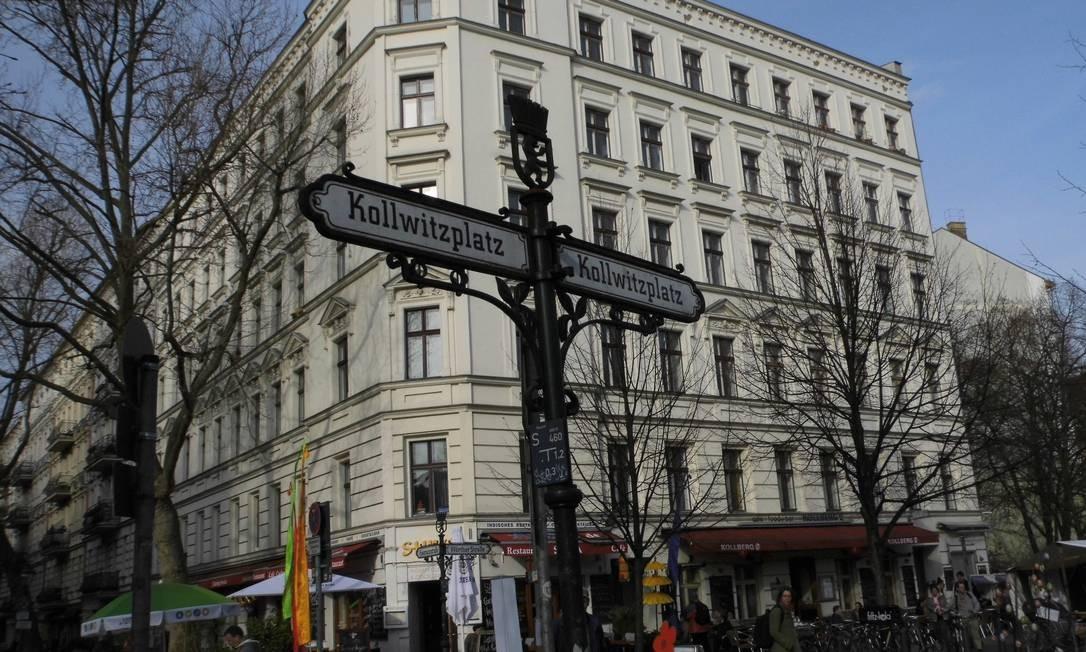 Prenzlauer Berg, em Berlim Oriental, região onde 80% da população antiga já partiram após o aumento dos aluguéis: mudança começou com lojas Foto: Graça Magalhães-Ruether