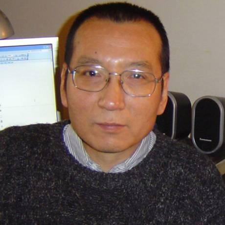 Foto concedida pela família mostra Liu Xiaobo em 2005 no sul da China Foto: LIU FAMILY / AFP