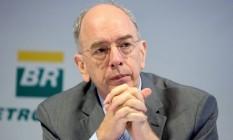 Presidente da Petrobras, Pedro Parente. Foto: Edilson Dantas / Agência O Globo