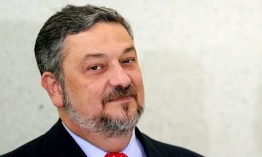 O ex-ministro Antonio Palocci Foto: Evaristo Sá / AFP / 7-6-11