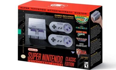 Super Nintendo Foto: Divulgação