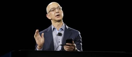 Jeff Bezos, fundador da Amazon Foto: Ted S. Warren / AP