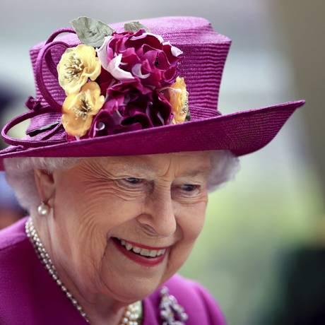 Rainha Elizabeth II em junho de 2017 Foto: John Walton / AP