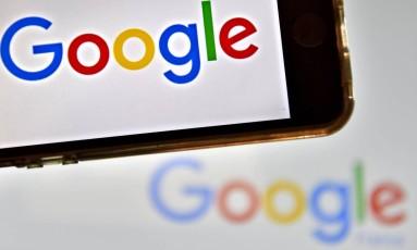 Logomarca do Google. Foto: Loic Venance/AFP