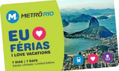 Cartão dará desconto em viagens durante o período de férias Foto: Divulgação