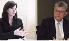 Raquel Dodge e Mario Bonsaglia Foto: Agência O Globo