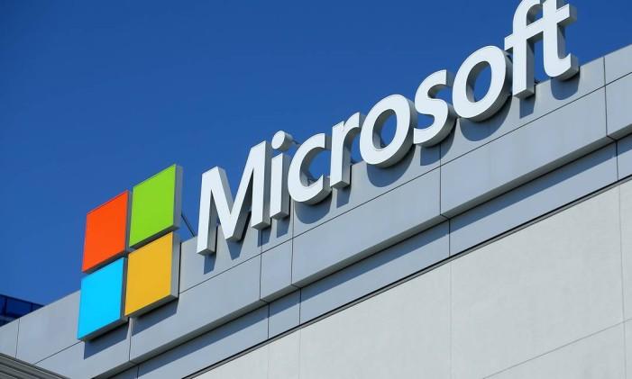 Logo da Microsoft. Foto: MIKE BLAKE / REUTERS
