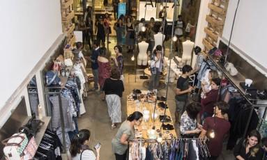 A pop-up store da Malha no Rio Design Leblon Foto: Divulgação