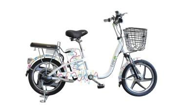 A bicicleta elétrica Lev é o item mais sofisticado e custa R$ 4.590 Foto: Divulgação