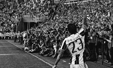 Daniel Alves se despede do Juventus Foto: Divulgação