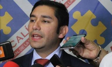 Luis Moreno é acusado de receber suborno do ex-governador de Córdoba, Alejandro Lyons Foto: El Tiempo / Óscar Bernal