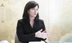 A subprocuradora-geral da República Raquel Dodge Foto: Jorge William / Agência O Globo / 27-1-2014