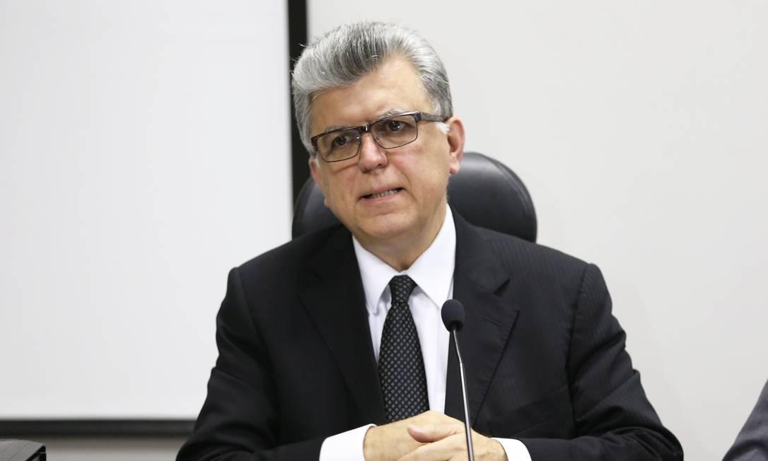 Mario Bonsaglia, subprocurador-geral da República no auditório da Procuradoria Geral do Trabalho Foto: Aílton de Freitas / O Globo/27.07.2015