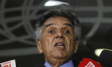 O deputado Beto Mansur (PRB-SP), durante entrevista Foto: Givaldo Barbosa / Agência O Globo