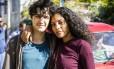 Gabriel Leone e Bárbara Reis gravavam cena da série no momento do incidente Foto: Sérgio Zalis / Divulgação / TV Globo
