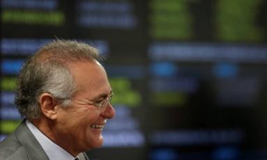 Senador Renan Calheiros Foto: Ueslei Marcelino / Reuters