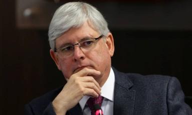 O procurador-geral da República, Rodrigo Janot Foto: ADRIANO MACHADO / REUTERS