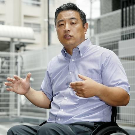 Hideto Kijima,de 44 anos, voltava de férias quando caso aconteceu Foto: Yuki Sato / AP