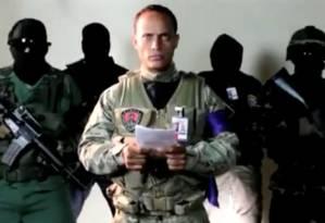 Óscar Pérez, piloto venezuelano que protestou contra Maduro Foto: REUTERS TV / REUTERS