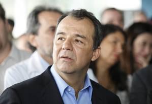 O ex-governador do Rio Sérgio Cabral Foto: Pablo Jacob / Agência O Globo / 8-10-13