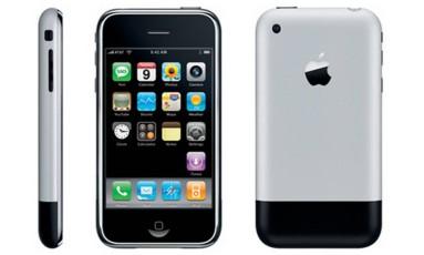 O primeiro iPhone Foto: APPLE